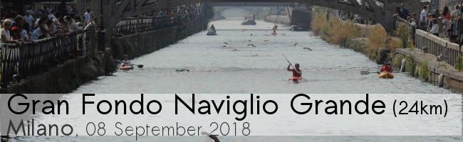 Gran Fondo Naviglio Grande, open water swimming