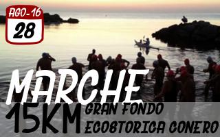 Gran Fondo Ecostorica del Conero - Marche - 28 Agosto 2016