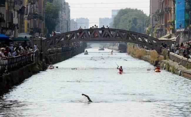 Gran Fondo del Naviglio, nuoto in acque libere