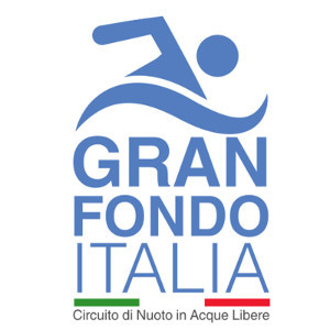 Gran Fondo Italia logo - circuit of Open Water Swimming