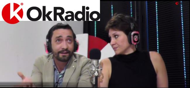 Maurizio GULLI ed Elena BUSCEMI ad OkRadio
