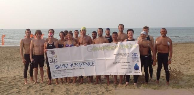 Gran Fondo Venezia 2016 - foto di gruppo della 15k prima della partenza