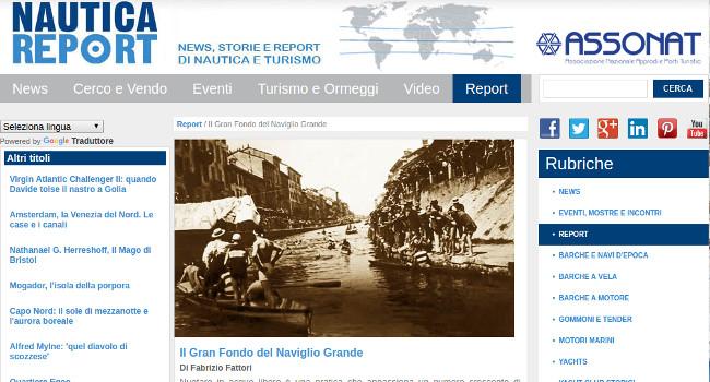 Gran Fondo del Naviglio su NauticaReport.it