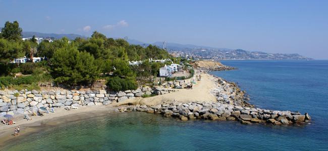 Coast of Gran Fondo Sanremo 2018