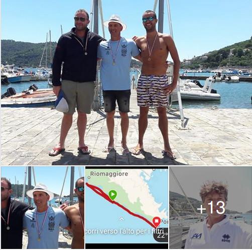 album Facebook Gran Fondo Cinque Terre 2018 di nuoto in acque libere