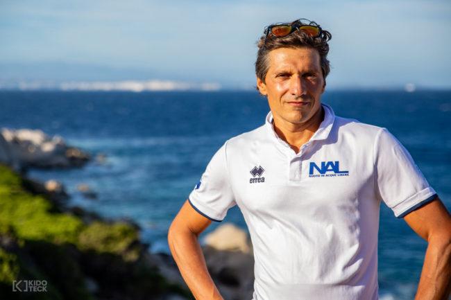 Pilati Alessandro vincitore della Gran Fondo Bocche di Bonifacio 2018