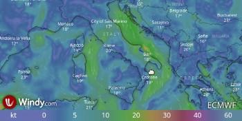 previsioni meteo e previsioni marine, servizio Consorzio LaMMA