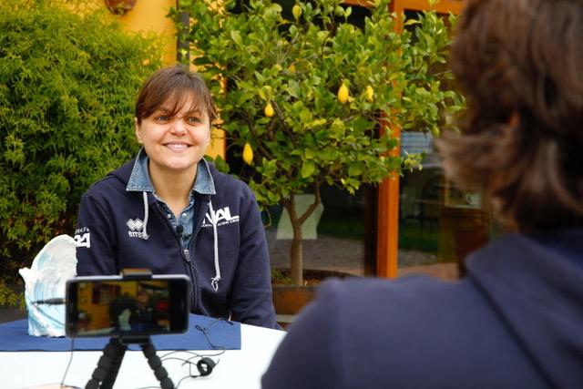 Valentina Rambaldi, prima del Circuito Gran Fondo Italia 2019