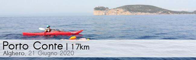 Gran Fondo di Porto Conte 2020, nuoto in acque libere ad Alghero, Sardegna