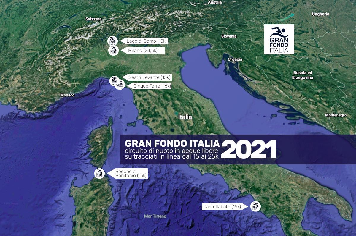 tappe Gran Fondo Italia 2021