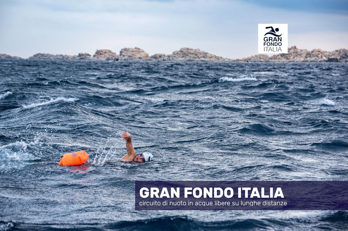 Gran Fondo Italia di nuoto in acque libere