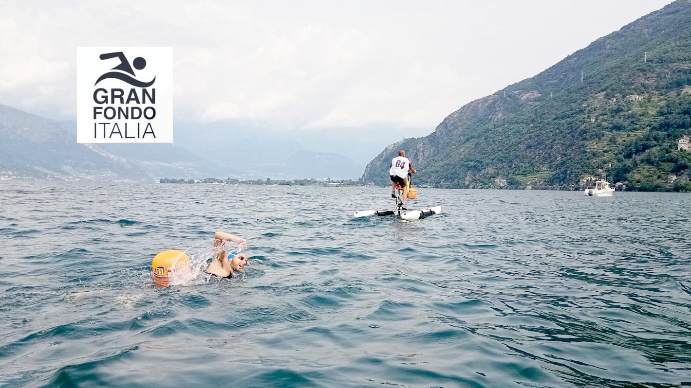 Massimo Grisenti vince la Gran Fondo Lago di Como 2021