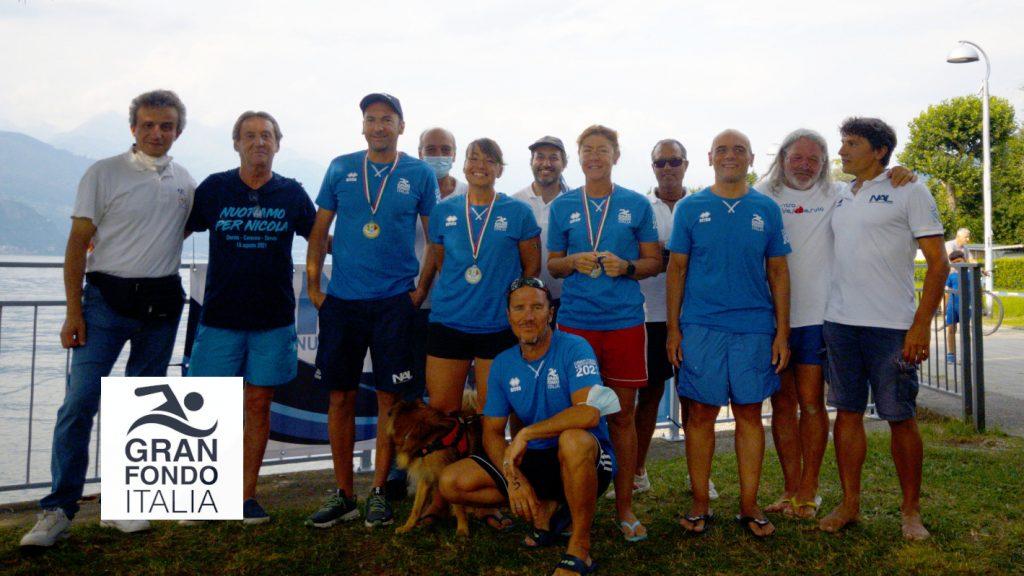 Foto di gruppo della GF Lago di Como 2021